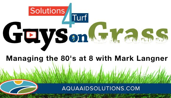 Guys on Grass: Managing the 80's at 8 with OARS HS and OARS PS
