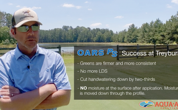 North Carolina Bentgrass Greens with OARS PS